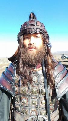 Khanh as 'Genghis Khan' Nissan Juke TVC