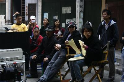 Directing a martial arts film in China